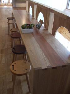 2Fカウンターテーブル